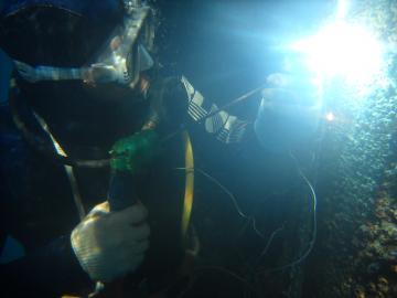 Underwater welding & cutting